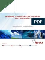 11 Framework for Achieving Total Enterprise Asset Management Terry Wireman Vesta Partners May 31 2012