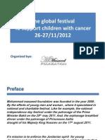 The Global Festival to Support Children With Cancer Nov 2012 Jordan