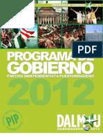 Plataforma PIP 2012