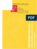 Registration, Delegate Card and Entry Pass Info about  14th International Mumbai Film Festival