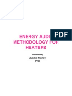 Energy Audit Methodology for Heaters - QNM