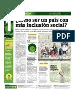 Cómo ser un país con más inclusión social