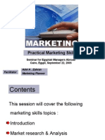 Practical Marketing Skills