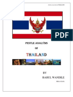 Thailand Pestle Analysis