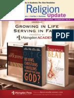 Religion Update IV, October 2012