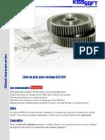 Kisssoft Preisliste 0775 0311 Euro Fr