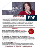Stafford Packet 2012-2