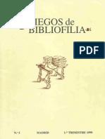 """Three new works by Michael Servetus"" in the Academic Journal  Pliegos de Bibliofilia,"