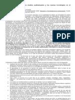 Usos e integración de los medios audiovisuales y las nuevas tecnologías en el currículum