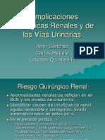 Complicaciones Quirúrgicas Renales y de las Vías Urinarias