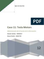 Caso 11 - Tesla Motors
