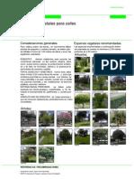 2.- Especies Vegetales en Ambientes Urbanos