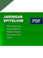 JARINGAN EPITELIUM