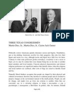 Three Texas Congressmen by David Arthur Walters