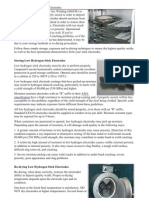 Electrode Drying