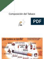 Composición del Tabaco