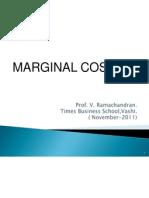 5. Cost Control Techniques - Marginal Costing