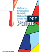 Paint Guide Galvanized Steel