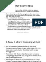 Praktikum 4 5 Fuzzy Clustering
