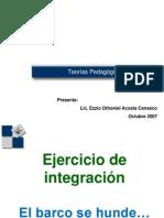 Teorías pedagógicas Claparede Y Ferriere