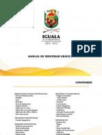 Manual de Identidad Grafica Ayuntamiento Iguala