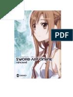 Sword Art Online Novela Volumen 1 Traducido