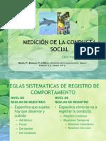 Tema 6 Medición de la Conducta Social