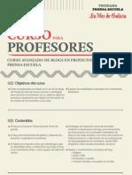 Curso Avanzado de Blogs de Prensa-Escuela