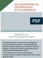 Diagnostico Diferencial de La Insuficiencia Respiratoria Perioperatoria