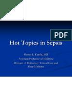 Hot Topics in Sepsis