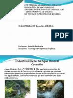 Industrialização da água