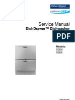 Fisher & Paykel Dishwasher Service Manual 01 (DD605_Service_599447A)
