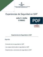 Experiencias Seguridad SAP