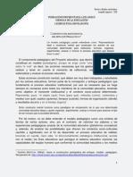 Construcción participativa del modelo pedagógico