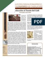 Introduccion Al Tueste de Cafe