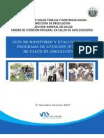 Guia Monitoreo Programa Atencion Adolesc