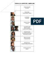Candidatura a La Junta Del Ampa_2012