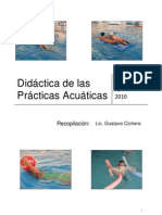 Manual Natacion/MANUALE DI NUOTO/ BOOK OF SWIMMING