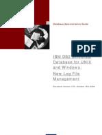 IBM DB2 UDB for UNIX and Windows- New Log File Management