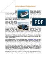 The Fundamentals of Transport Products Overseas