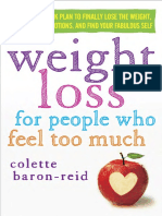 Weight Loss for People Who Feel Too Much by Colette Baron-Reid - Excerpt