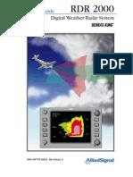 RDR 2000 Pilots Guide