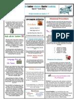Newsletter 10-5-2012