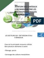 Presentation Projet Eau Bangoua Par Tsoungui