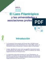Lazo Filantrópico y Universidades y Asociaciones Profesionales