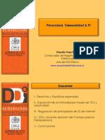 Propiedad Intelectual en Internet y la protección de datos personales - Claudio Ossa
