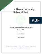 Law v. Trust