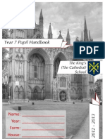 KSP Year 7 Handbook