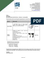 Oferta Imprimante Coduri de Bare Si Cititoare Coduri de Bare