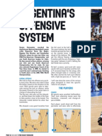 Argentinas Offensive System by Sergio Hernandez